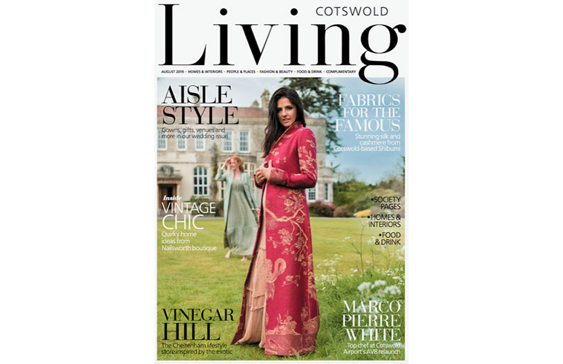 As Featured in Cotswold Living – August 2019